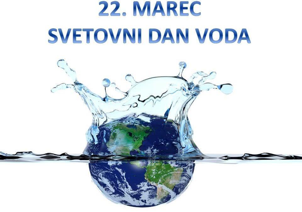 22. marec je svetovni dan voda